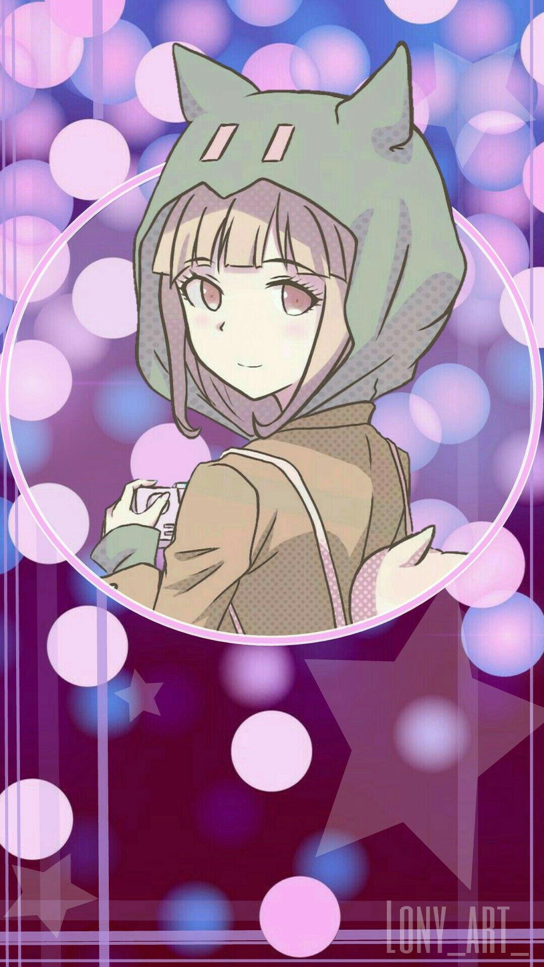 Chiaki Nanami Edit For Phone Wallpaper By Lony Art Danganronpa Anime Danganronpa Characters