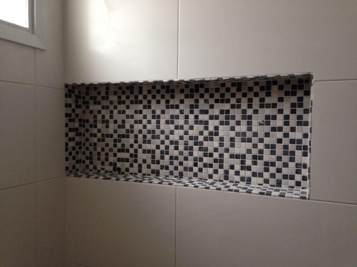 #nicho #banheiro  Home Sweet Home  Pinterest -> Acabamento Do Nicho Do Banheiro