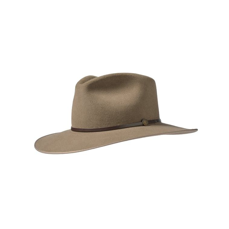 86ad9085589 Stetson Wolf Canyon Hat in Birch Side View