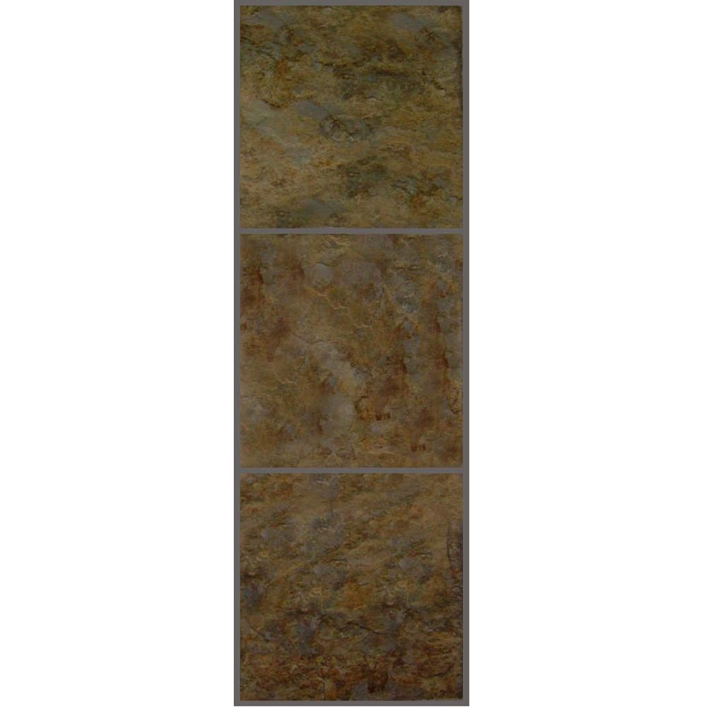 Trafficmaster Allure 12 In X 36 In Patina Luxury Vinyl Tile Flooring 24 Sq Ft Case 211712 The Home Depot Luxury Vinyl Tile Flooring Vinyl Tile Flooring Luxury Vinyl Tile
