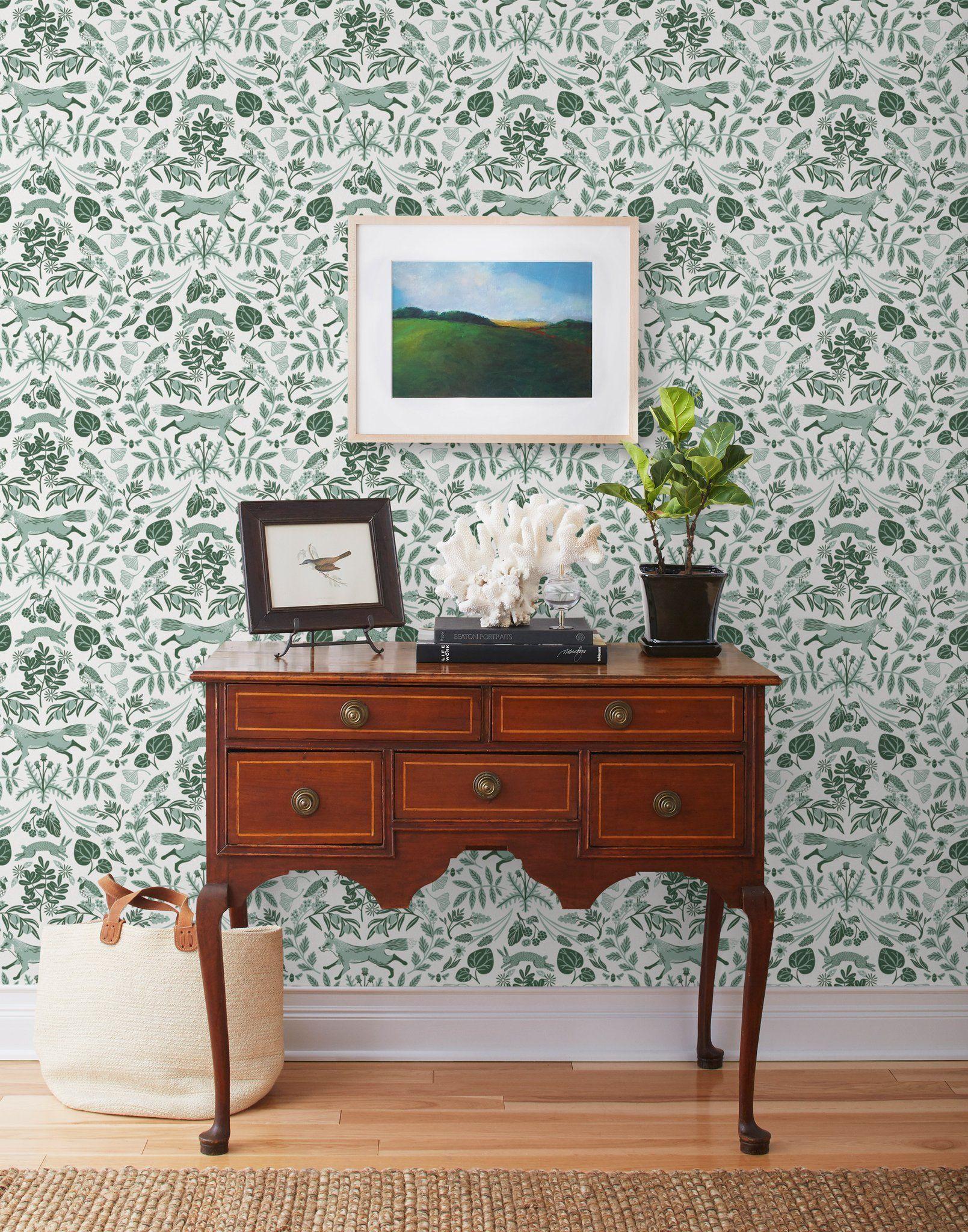 Pattern + Paint H&W Wallpapers Meet Benjamin Moore's 2020