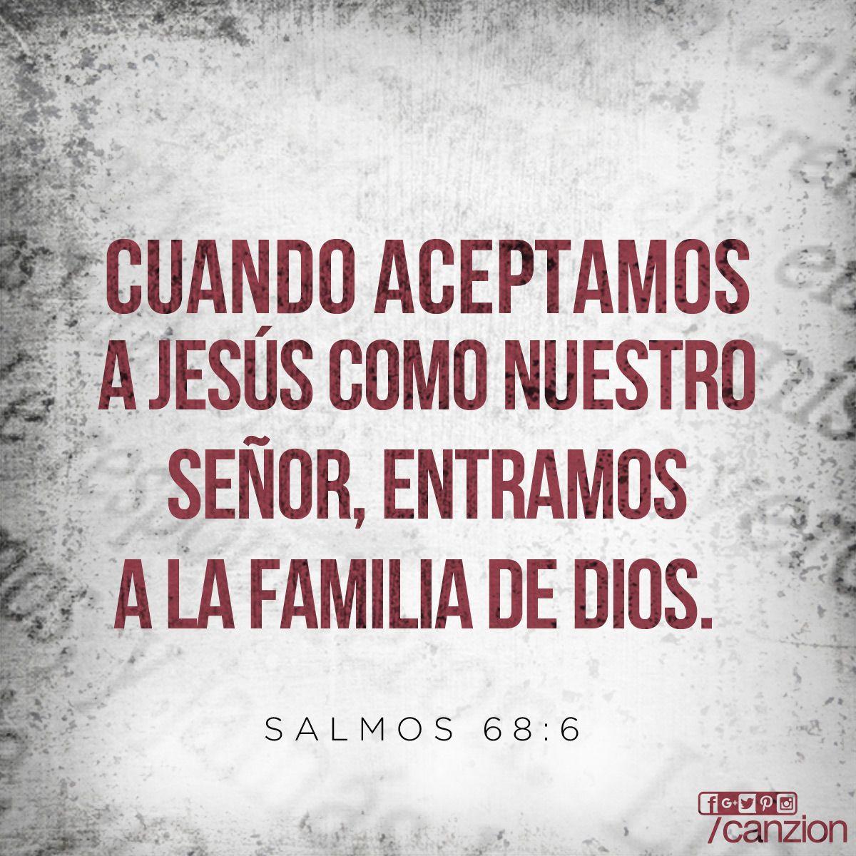 Dios ubica a los solitarios en familias pone en libertad a los prisioneros y