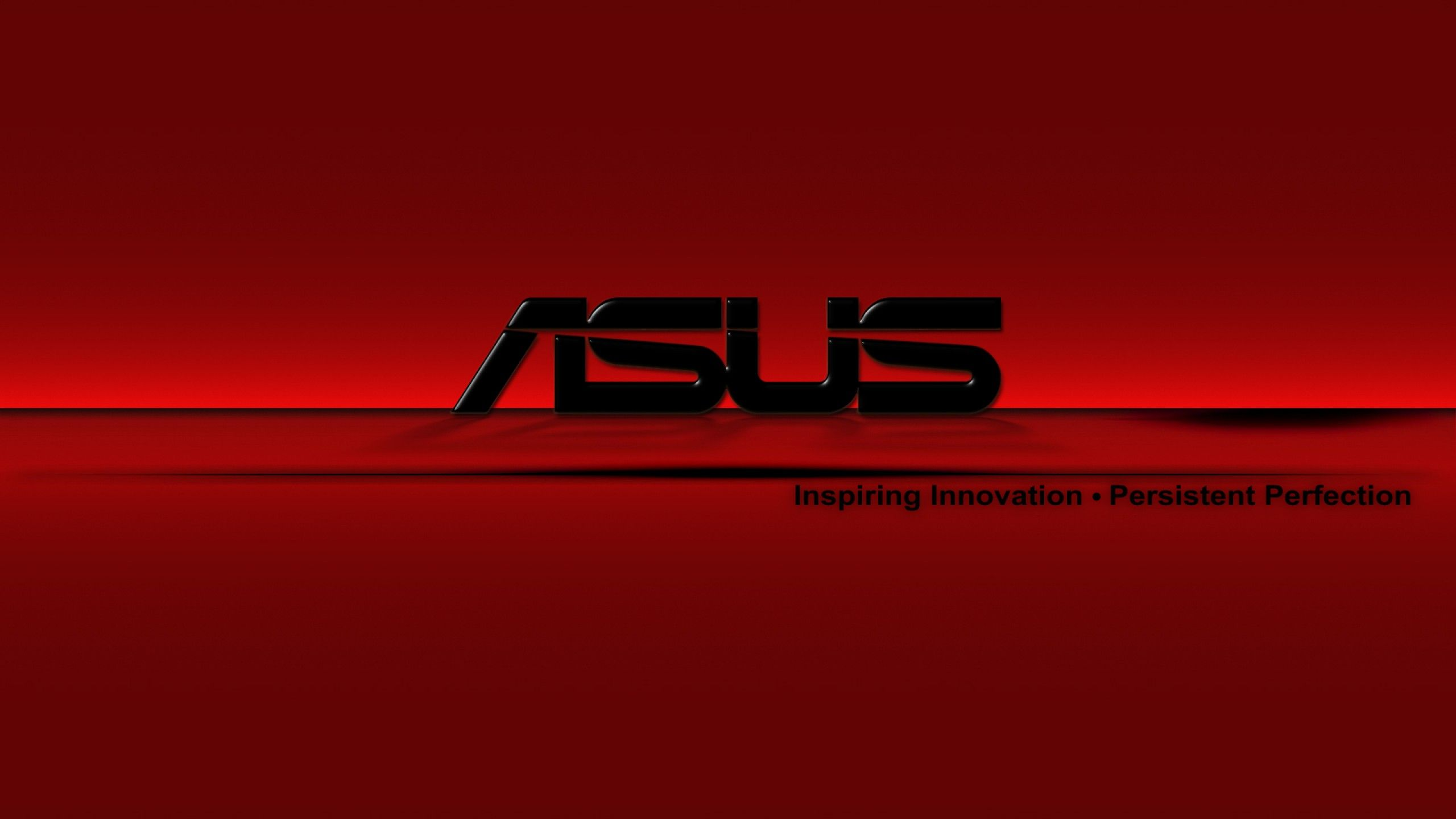 Red Asus HD Wallpaper