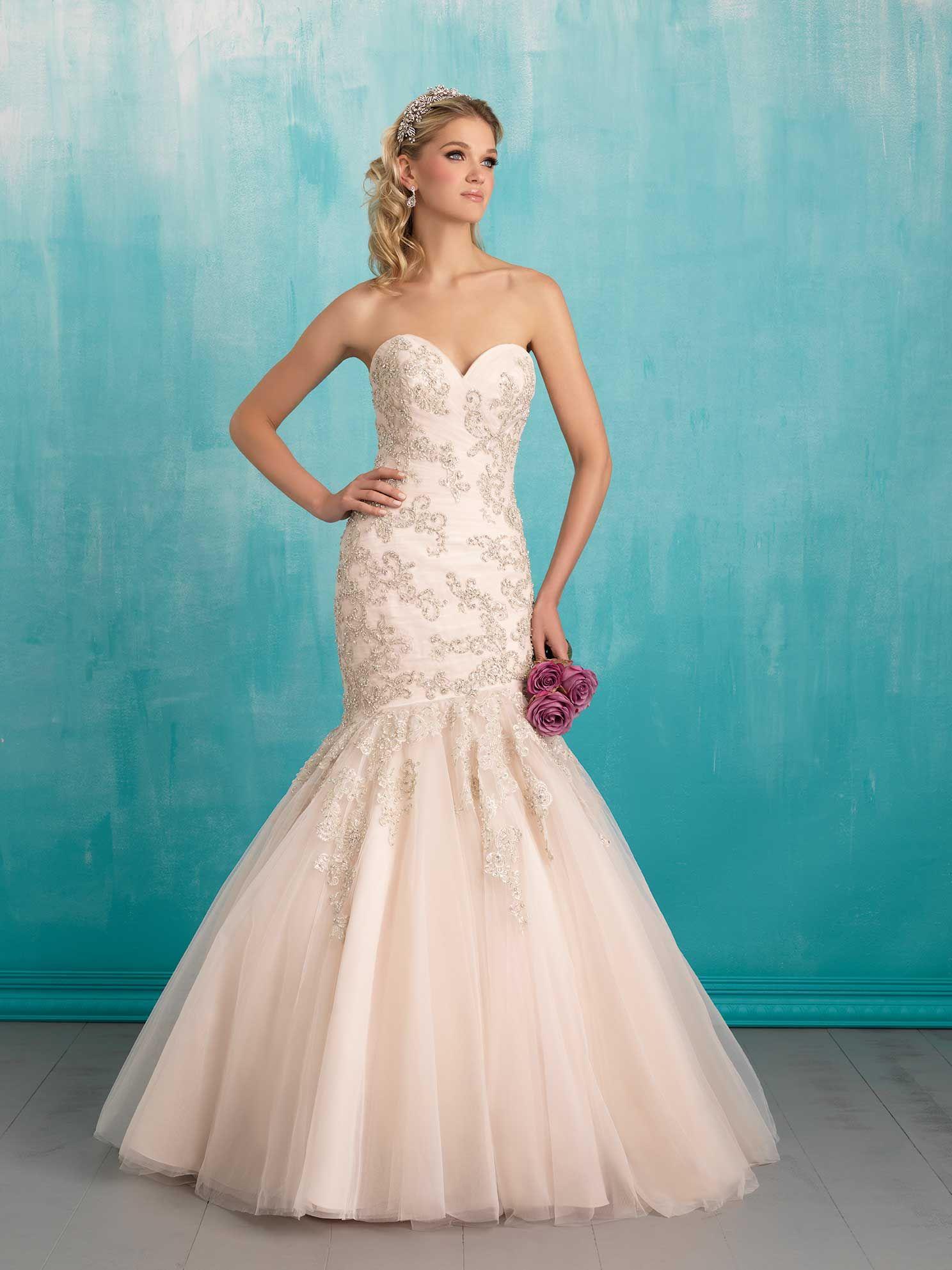 Vestidos para novia - La mejor selección en color | Allure bridal ...