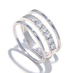 oelalala mooie ring voor mezelf, in wit goud, want ja doe eens gek, geld zat!!!!