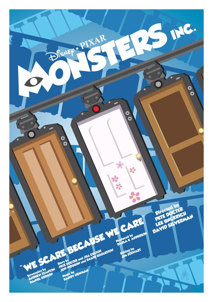 Monsters. Inc Poster by Jeko22 on @DeviantArt