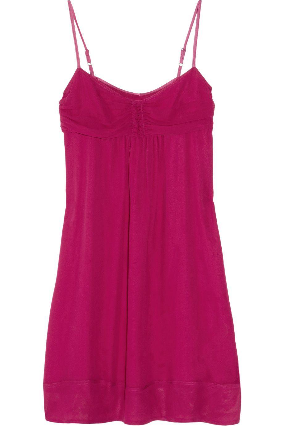 Burberry Brit  Silk-georgette chemise  $425