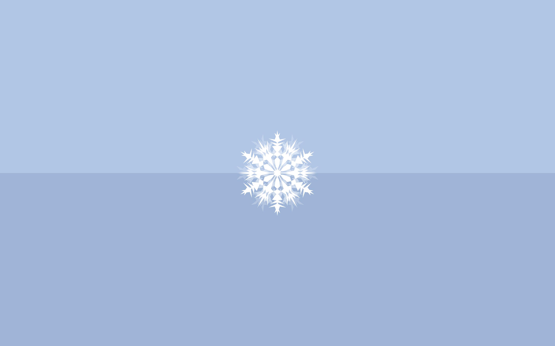 Snowflake Minimalist Desktop Wallpaper Snowflake Wallpaper Minimalist Wallpaper
