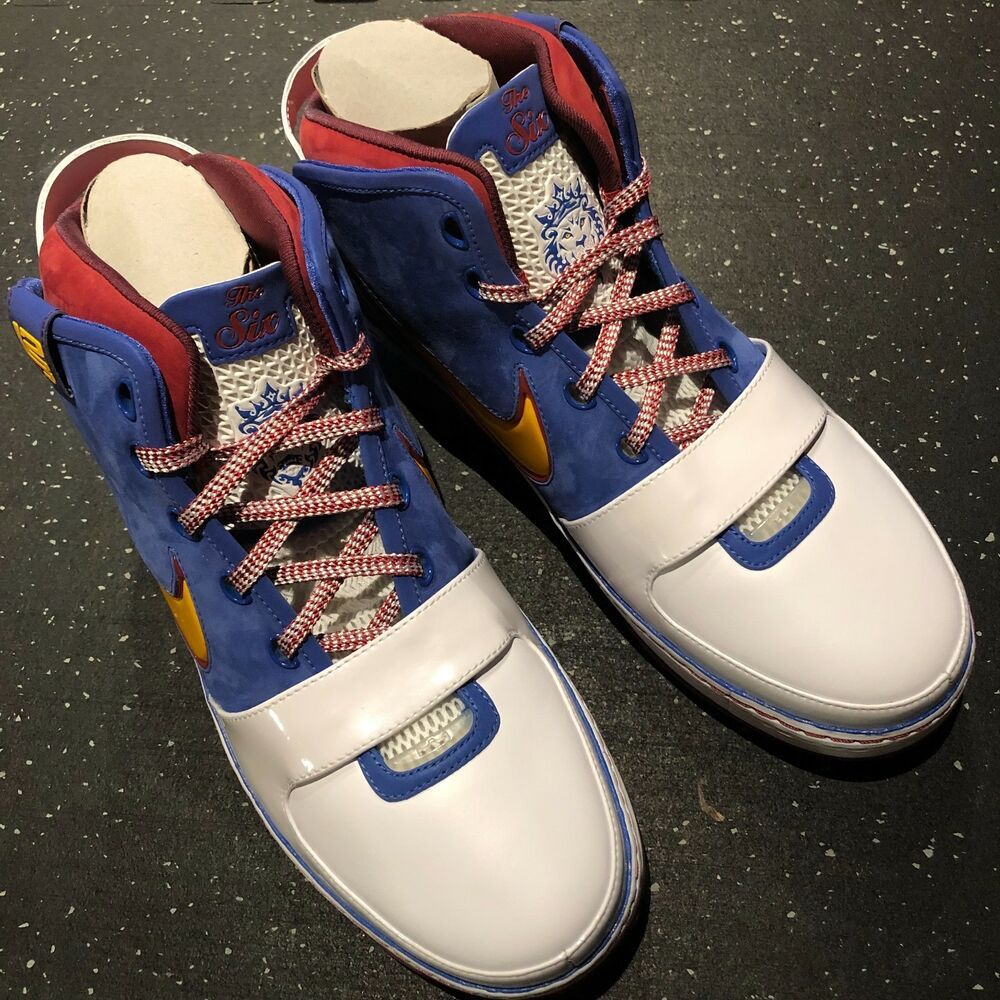 ec9817dd11f NIKE LEBRON 6 DEADSTOCK PE SUPERMAN SIZE 12  fashion  clothing  shoes   accessories