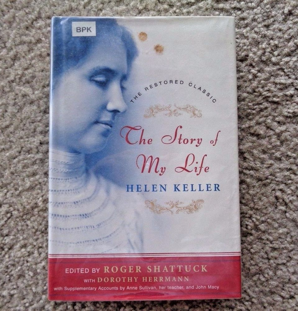 The Story Of My Life By Helen Keller English Hardcover Book