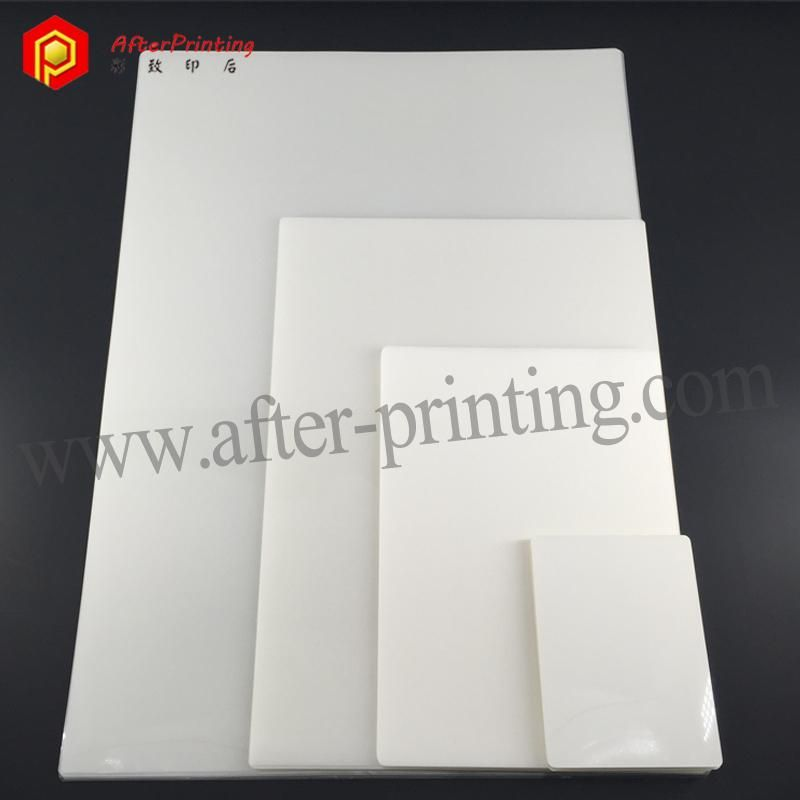 Three Layer Thick Lamination Pouches Lettering Three Layer Pouch