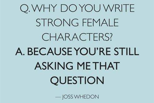 Joss Whedon, everybody! I love it!