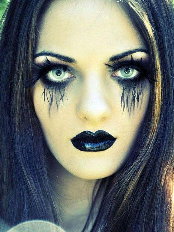 Halloween make up inspiratie halloween inspiratie pinterest halloween inspiratie en fijne - Decoratie voor halloween is jezelf ...