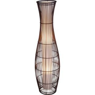 Pin By Tina Barker On Floor Lamps In 2019 Rattan Floor Lamp Brown Floor Lamps Floor Lamp