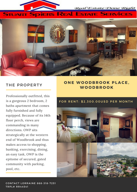 One Woodbrook Place Woodbrook 2 300 00usd Per Month With Images Commercial Property For Sale Real Estate Services Commercial Property