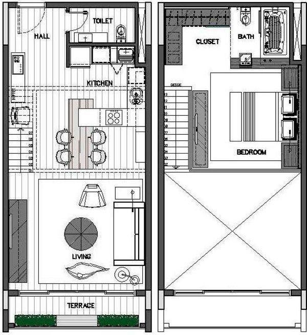 Resultado de imagen para loft planos | caroc | Pinterest | Loft ...