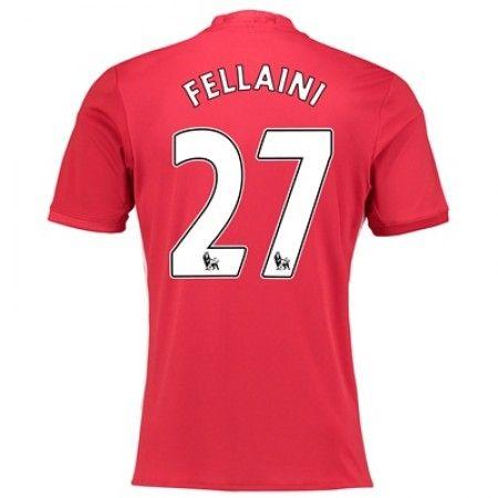 Manchester United 16 17 Marouane Fellaini 27 Hjemmedrakt Kortermet Http Www Fotballpanett Com Manchester United 1 Manchester United Manchester Fotballdrakt