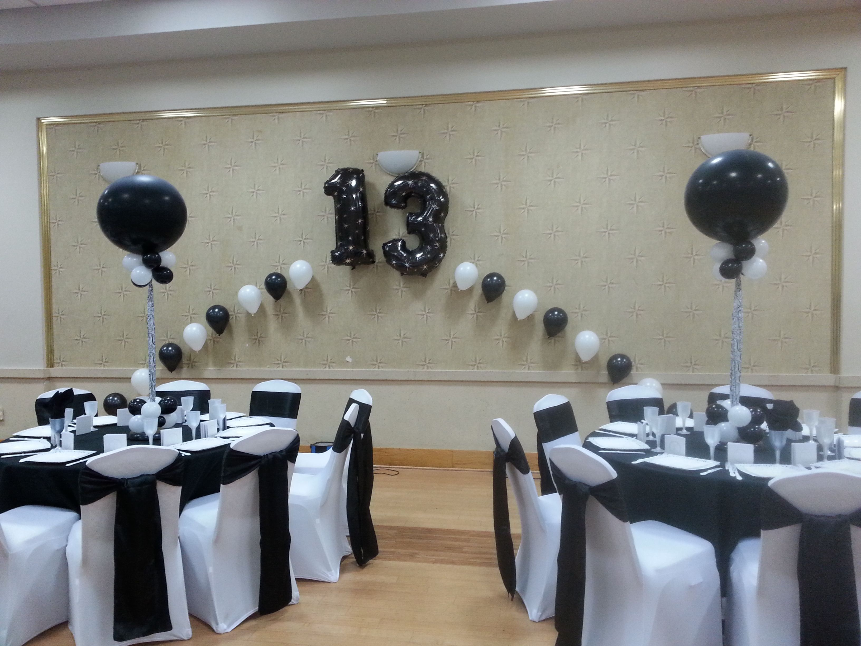 Black and White Bar Mitzvah by Extra POP by Yolanda