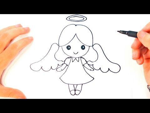 COMO DIBUJAR UN NIÑO JESUS PARA NAVIDAD PASO A PASO: Dibujos kawaii ...