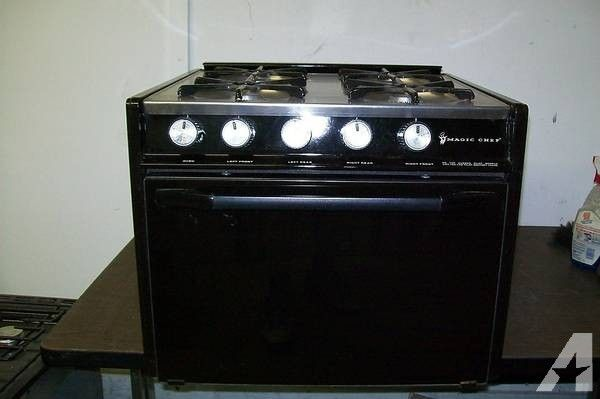Rv Stove Oven >> Magic Chef Rv 4 Burner Gas Stove Oven Camper Stainless Top