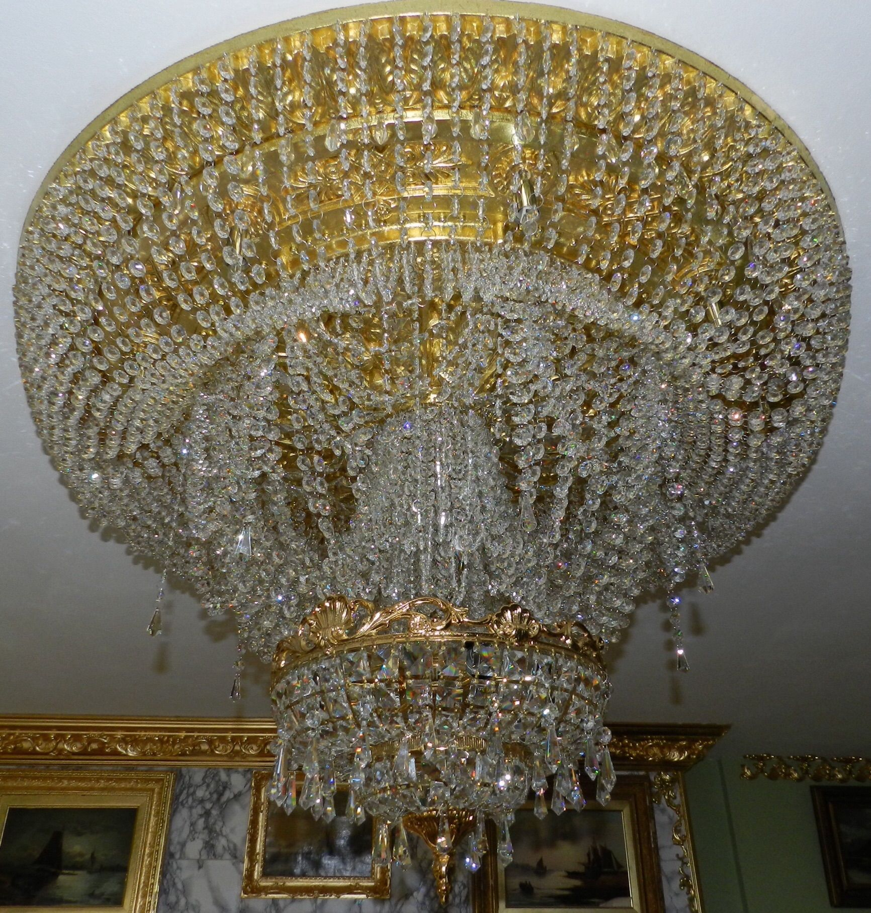 My leaving room chandelier pandon castle collection pinterest my leaving room chandelier aloadofball Image collections