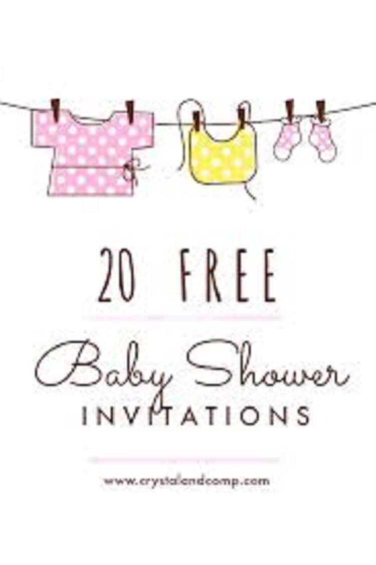Free Customizable Baby Shower