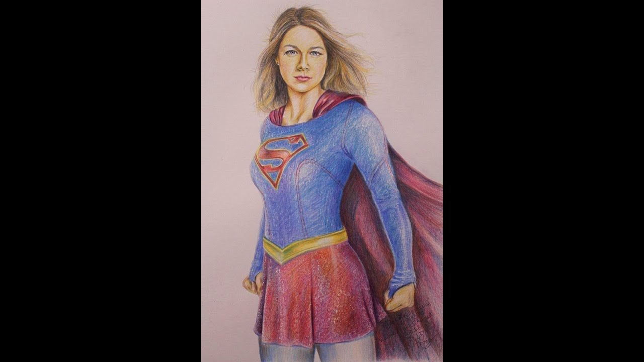 20 Part 1 Supergirl Melissa Benoist Draw By Prong Ly Supergirl Melissa Benoist Aurora Sleeping Beauty