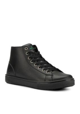 ded71a8f0b323 Emeril Lagasse Footwear Men s Read Leather Sneaker - Wide Width Available -  Black - 10.5M