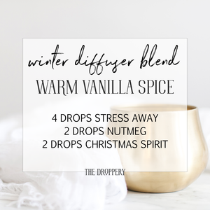 Diffuser Blends — The Droppery #winterdiffuserblends