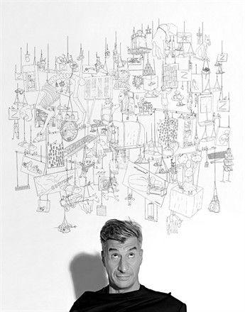 Maurizio Cattelan portrait