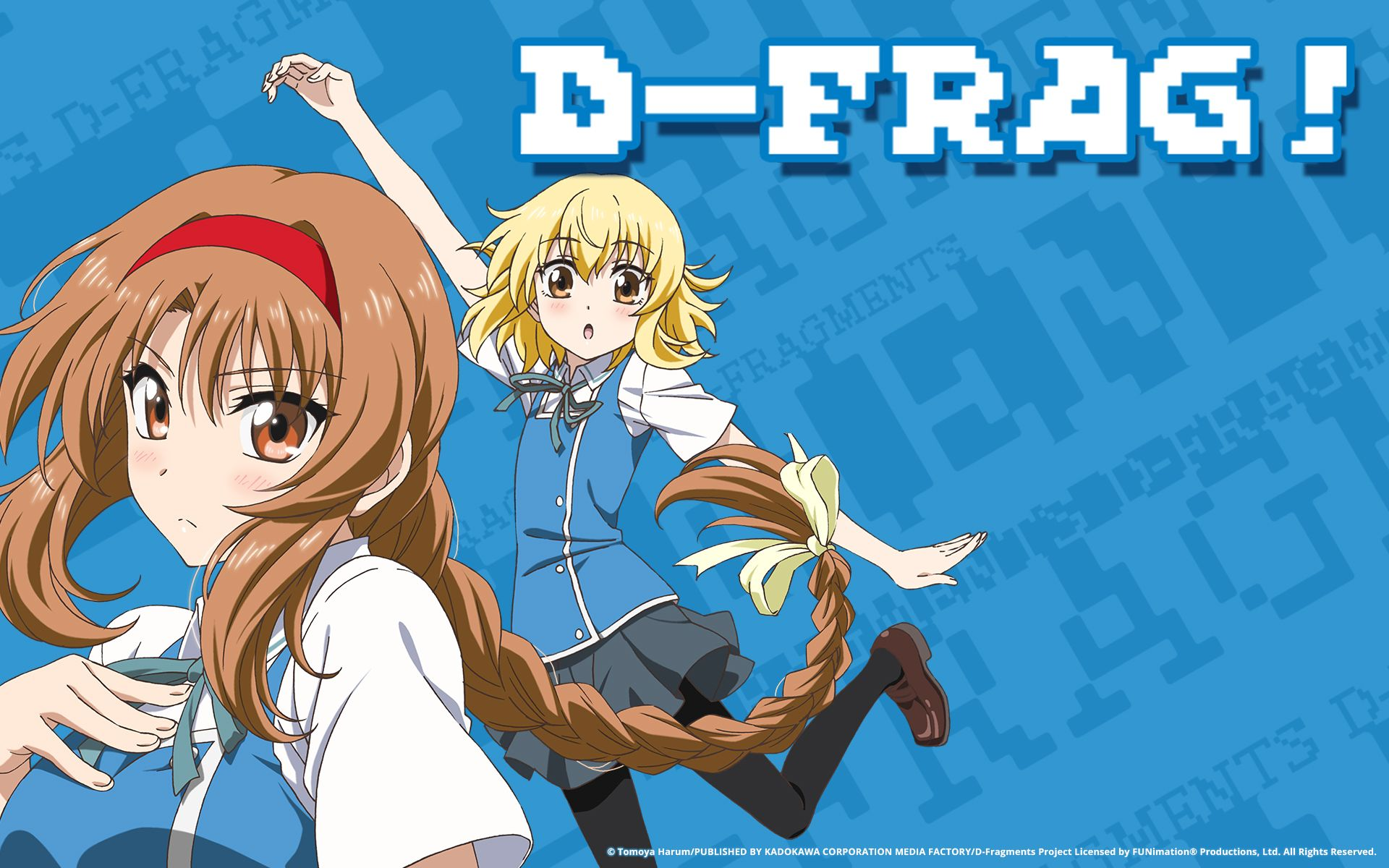 D Frag Anime Girls Takao D Frag Shibasaki Roka Wallpapers