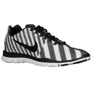 official photos 10205 57404 Nike Free 5.0 TR Fit 3 Print Stripe Women's Black White ...