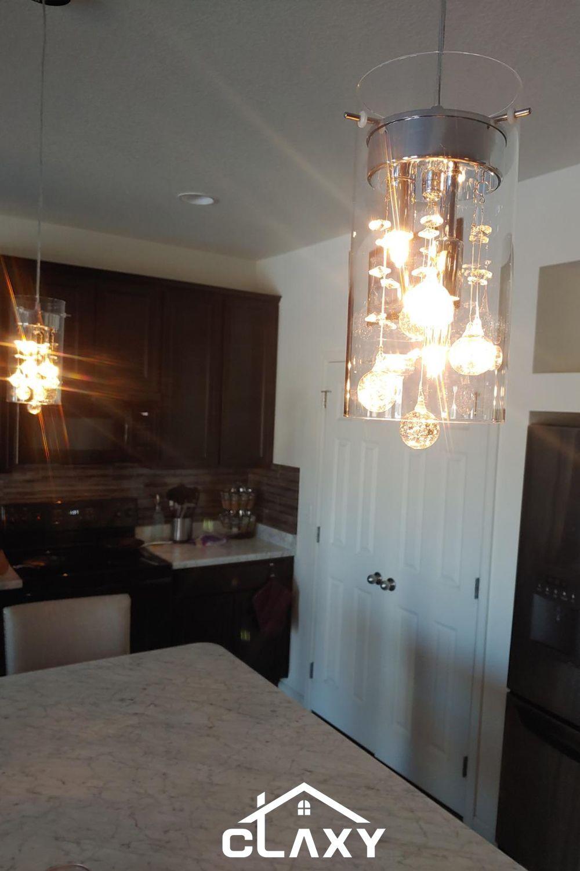 Home In 2020 Kitchen Lighting Design Kitchen Lighting Fixtures Foyer Lighting High Ceiling