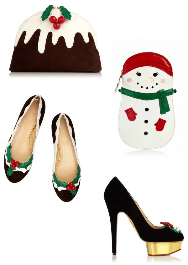 Image result for charlotte olympia christmas collection