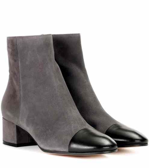 Exklusiv bei Mytheresa – Stiefel aus Veloursleder
