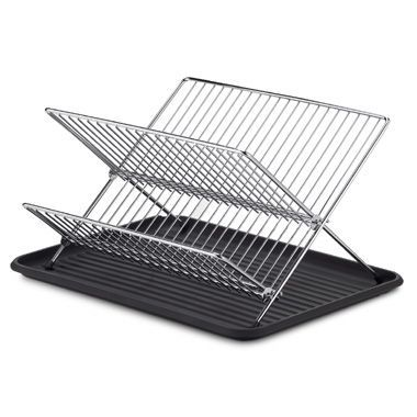 Bed Bath And Beyond Drying Rack Custom Buy Folding Dish Rack And Drain Board Set From Bed Bath & Beyond