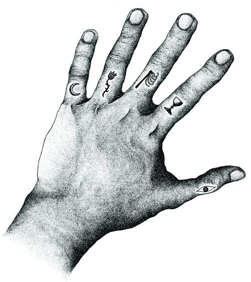 Palmistry Symbols | Tattoo's and shit | Palmistry