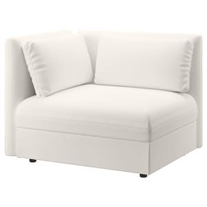 Vallentuna Sleeper Module With Backrests Murum White Width 44 1 2 Shop Here Ikea Vallentuna Buy Sofa Armchair Bed