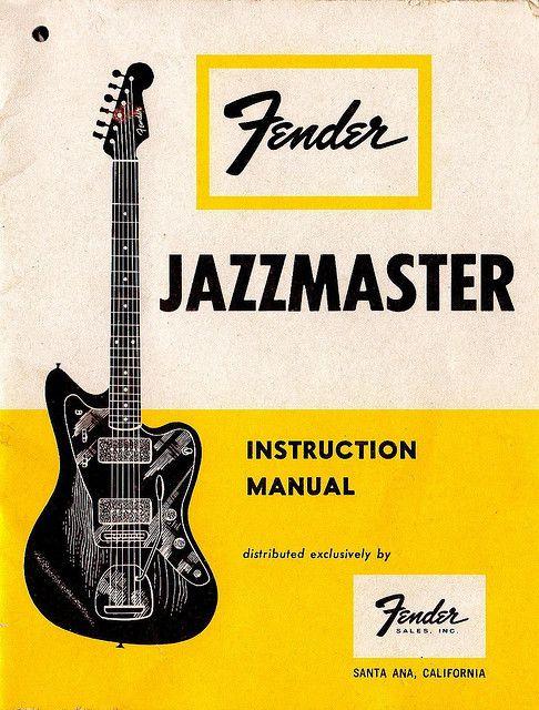 59 jazzmaster instruction manual by sewkid on flickr arte visual rh pinterest co uk fender squier affinity user manual fender squier owner's manual
