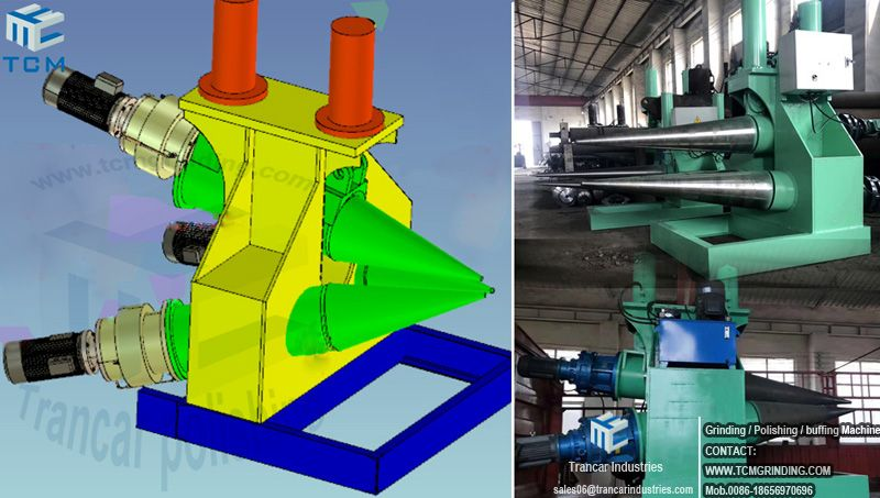 Steel Cone Hydraulic Rolling Machine Cone Making Machine In 2020 Making Machine Cone Steel