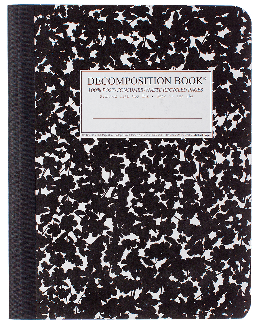 Cherry Blossom Composition Book College Ruled 9 75 7 5 Notebook Cherry Blossom Recycled Notebook Blossom