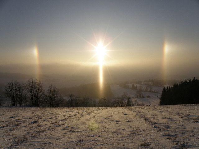 Morning Sun Halo - Sun Dogs / Annaberg, 860m | Flickr - Photo Sharing!