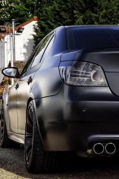 Fullthrottleauto BMW M5 E60 BLACK MATTE By Snatch