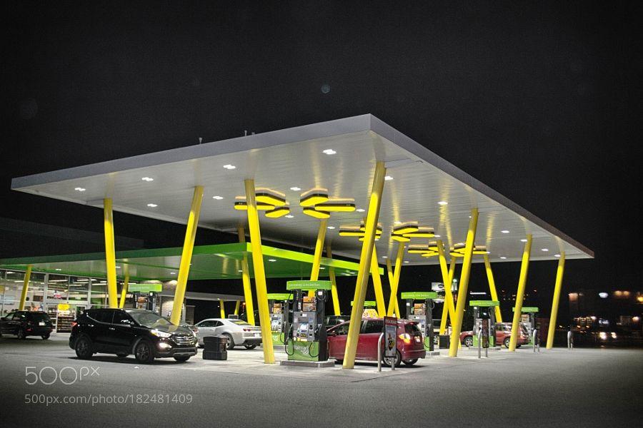 A Walmart 2 go gas station by harivasu