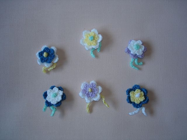Ravelry Mariannas Little Crochet Flower Free Pattern By Marianna