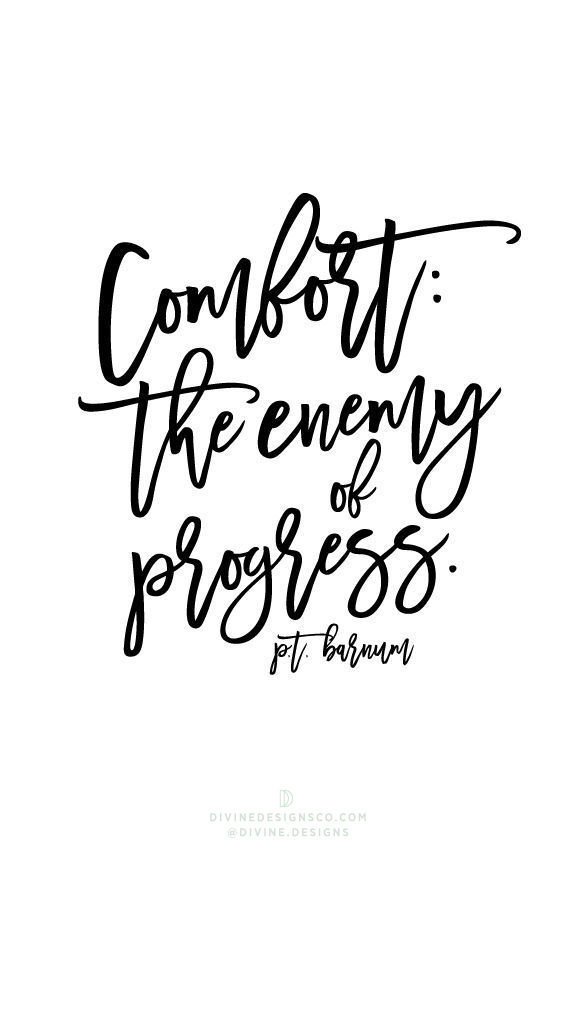 comfort the enemy of progress the greatest showman quotes and