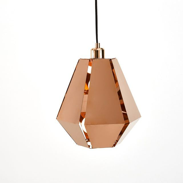 Suspension origami, cuivre, Takoi La Redoute Interieurs | La