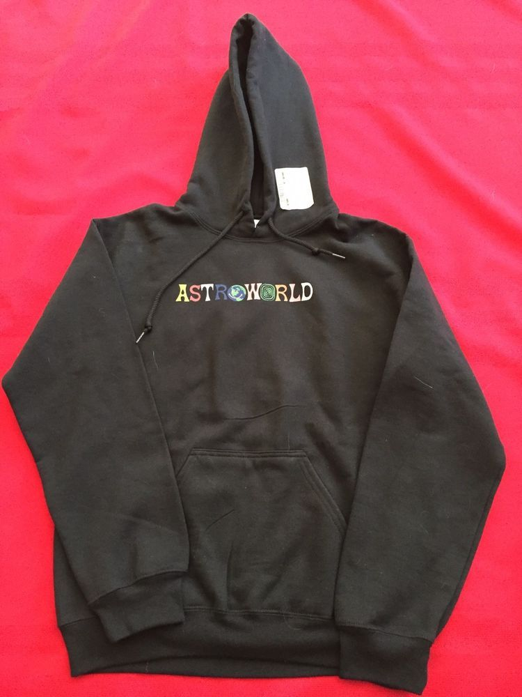 29bb5985f815 Astroworld Hoodie Black Sweatshirt TRAVIS SCOTT small #fashion #clothing  #shoes #accessories #unisexclothingshoesaccs #unisexadultclothing (ebay  link)