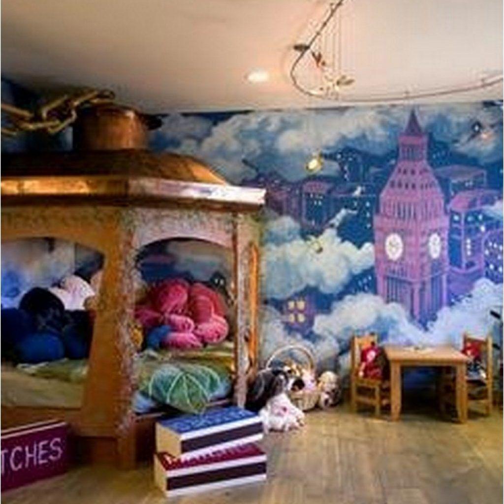75+ Fantastic Ideas For Disney Inspired Children's Bedroom - Philanthropyalamode.com | Popular Home Design #disneyrooms