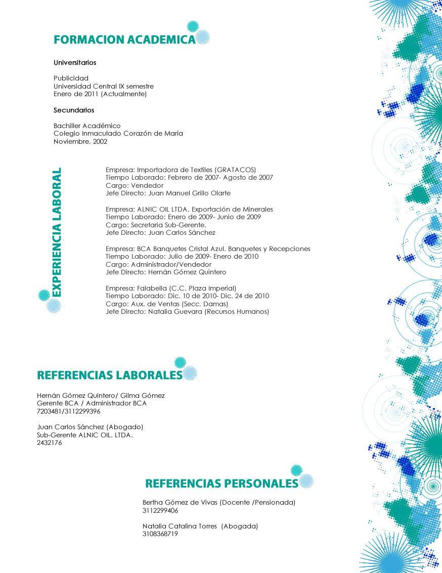 Increíble Resumen De Banquero Personal Ideas - Ejemplo De Colección ...